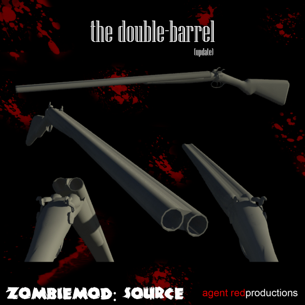New Model WIP: The Double Barrel (update)