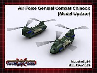 Air Force General Combat Chinook