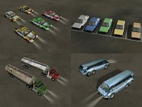 Assorted New Civilian Vehicles