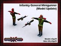 Infantry General Minigunner