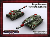 Tank General Siege Cannon