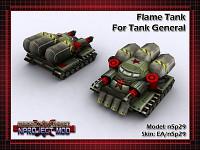 Tank General Flame Tank
