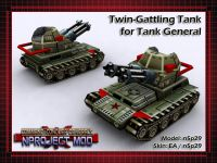Twin-Gattling Tank for General Kwai