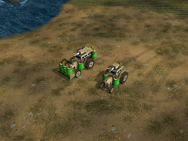 Heavy Toxin Tractor In Game