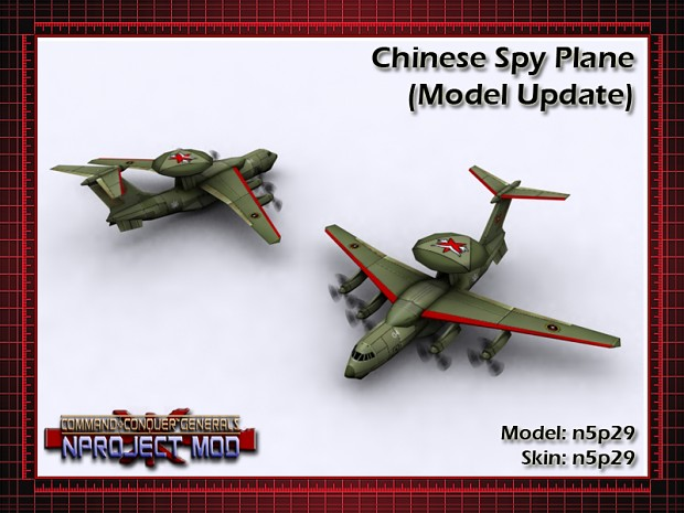 Chinese Spy Plane