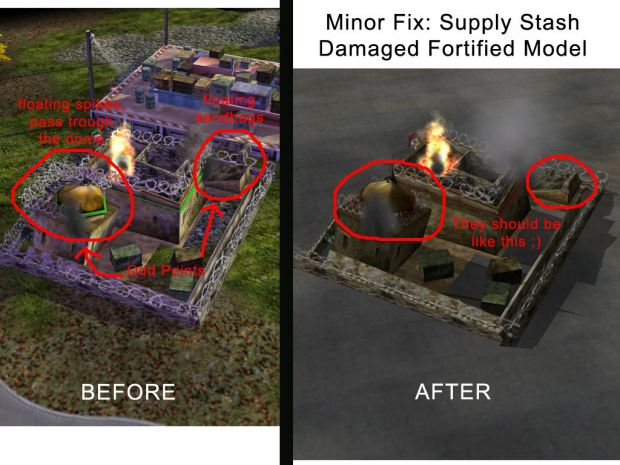 Fixed Supply Stash Fortified Upgrade Model