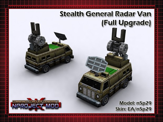 Radar Jammer for Stealth General