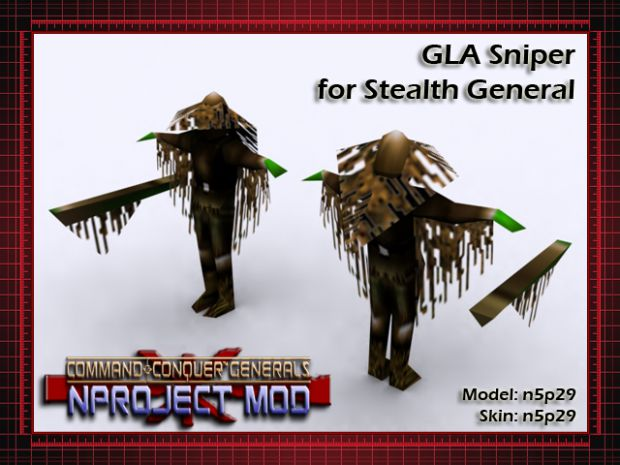 Stealth General GLA Sniper Model Update