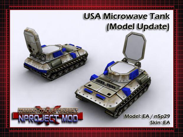 USA Microwave Tank