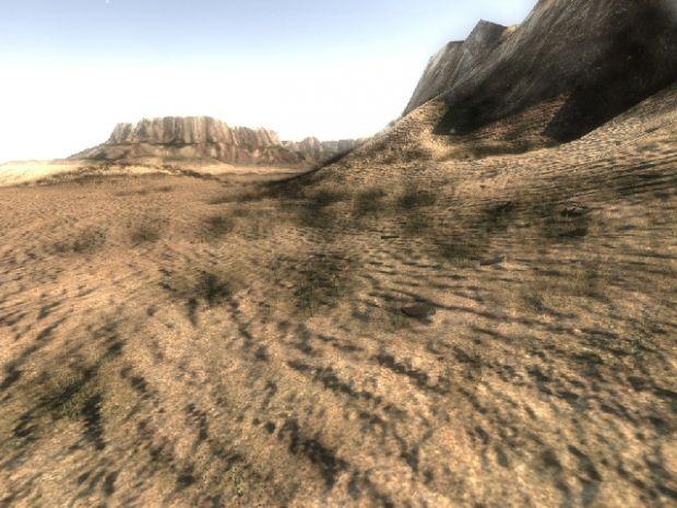 Realtime lit landscapes