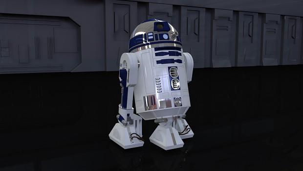 R2-D2 - Cutscene Model