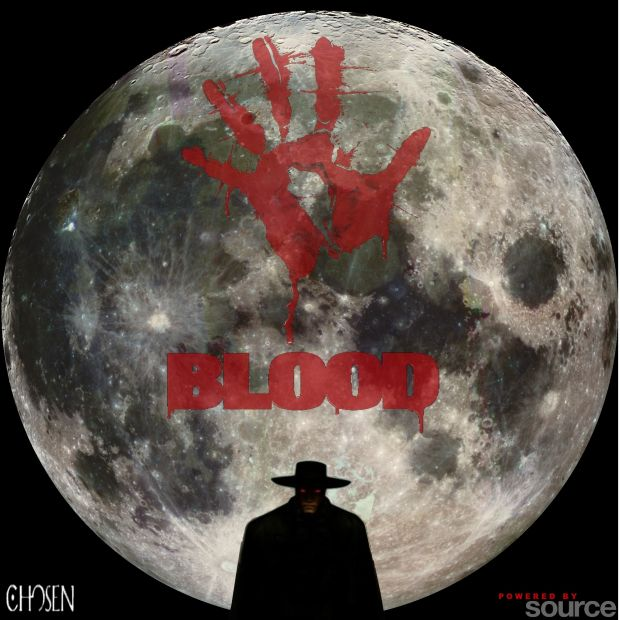 Blood Source moon logo