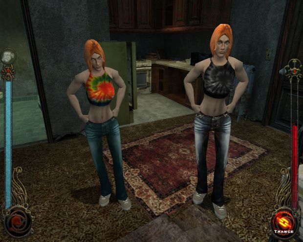 Heather and Yukie Embrace Skins