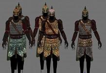 Rohirrim armors by Justb