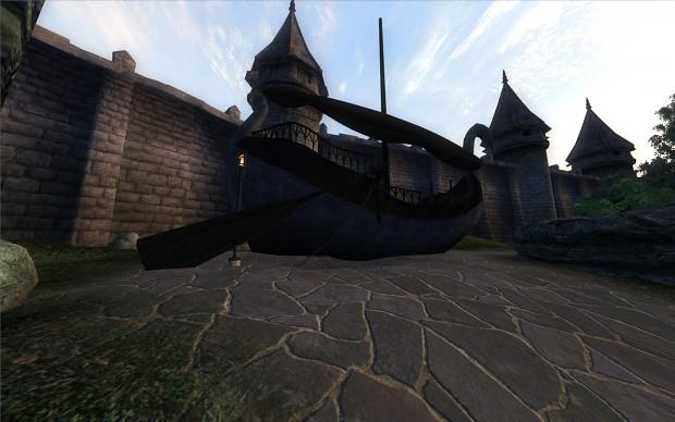 Elven ship