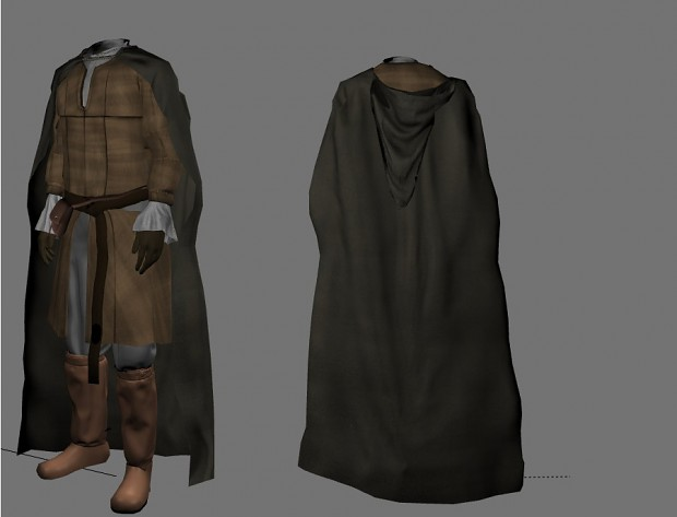 Clothes for the citizens of Bree-land