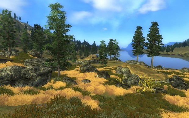 Southern Ithilien (looking down the Anduin)