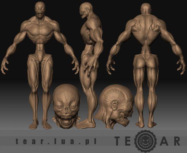 NEW character concept sculpt