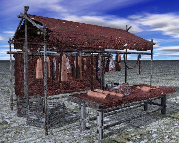 City Market Stalls