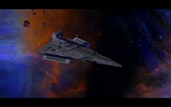 The Hapan fleet-Captured Victory Star Destroyer