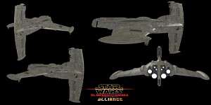 Galactic Alliance-Trimiran Battle Cruiser