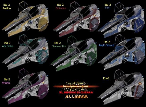 New Eta-2 skins