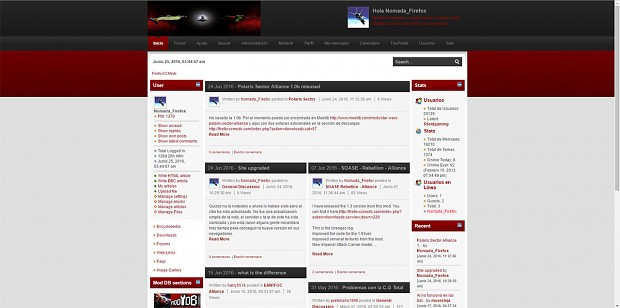 FirefoxCCMods site upgraded