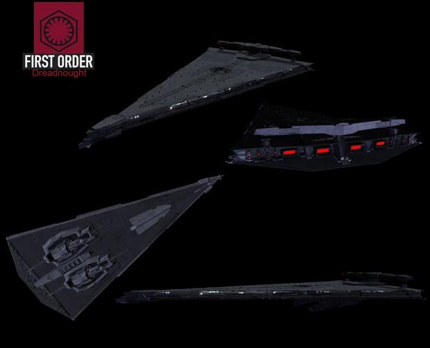 First Order Mandator IV Dreadnought