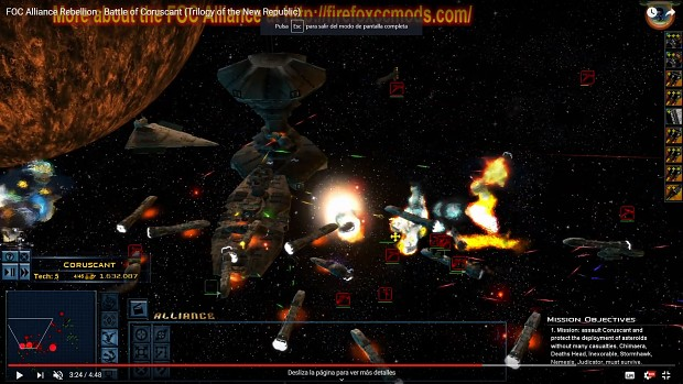Battle of Coruscant (Trilogy of the New Republic)