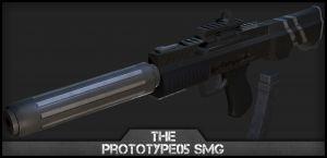 Prototype05 SMG Texture. [WiP]