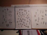 Concept drawings - Explosives and medical equipment