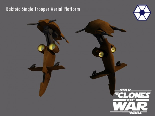 The Baktoid Single Trooper Aerial Platform