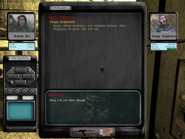 Test Zombie Trader