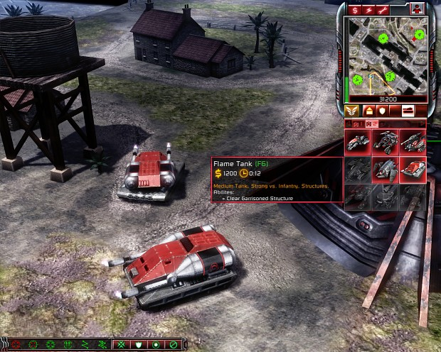 Nod Flame Tank