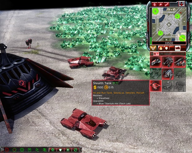 Nod Stealth Tank