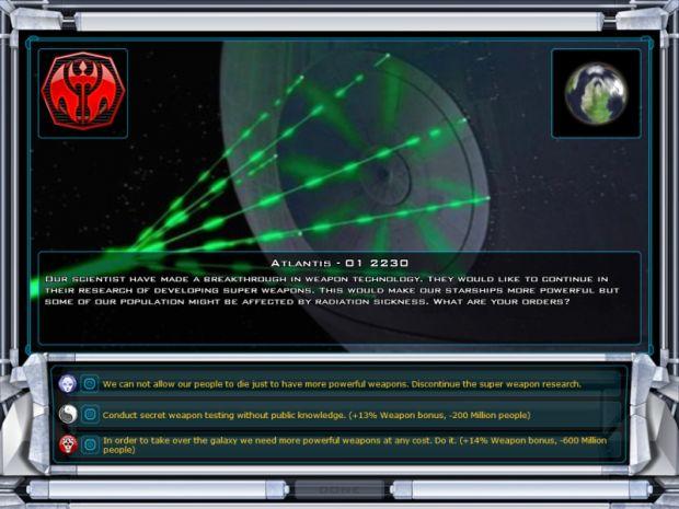 Events From the Star Trek Vs. Star Wars Mod
