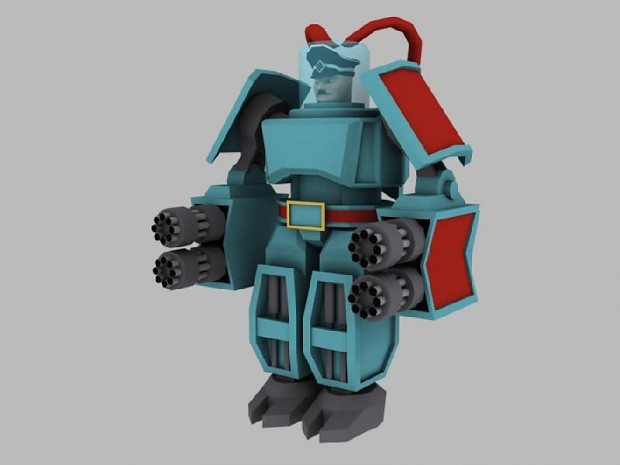 Earlier version of Mech-Hitler