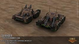 Forgotten Mammoth Tank