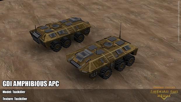 GDI amphibious APC texture