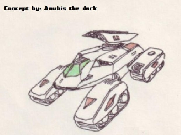 Concept: Nod Stealth Tank
