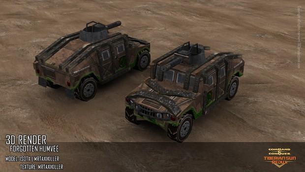 Forgotten Humvee