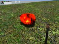 Hot Coal model