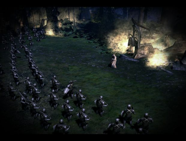 Armies of Isengard in Lorien