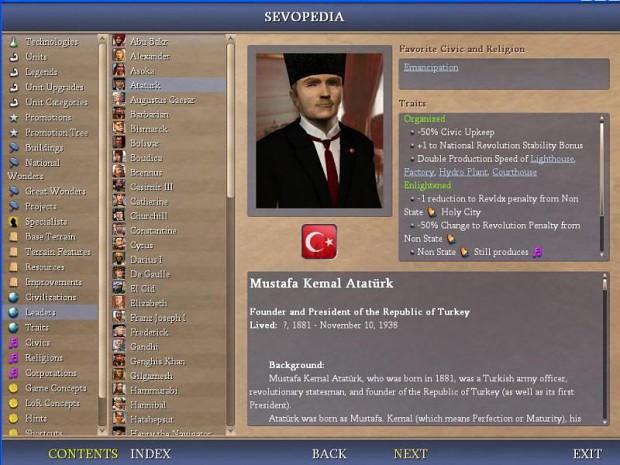 Ataturk leader (Sevopedia)