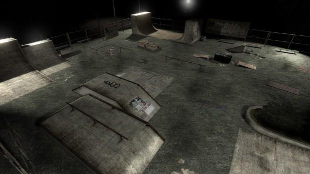 Skatepark image - Grey mod for Half-Life 2: Episode Two - Mod DB