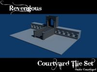 WIP Outer Courtyard