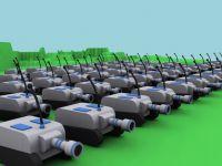 Mini Tank Clay Render War