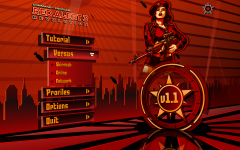 Red Alert 3: Revolution Main Menu