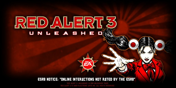 Red Alert 3: Unleashed - loadscreen