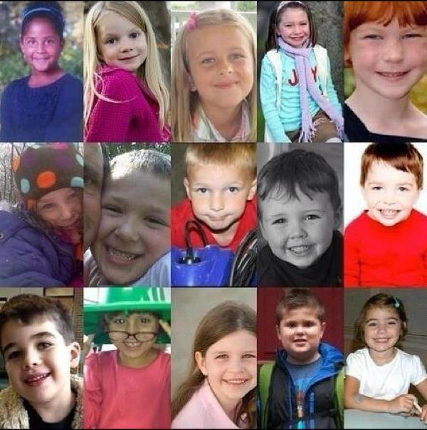 RIP angels of Newtown, CT